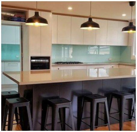 luxury modern white beige grey kitchen 4