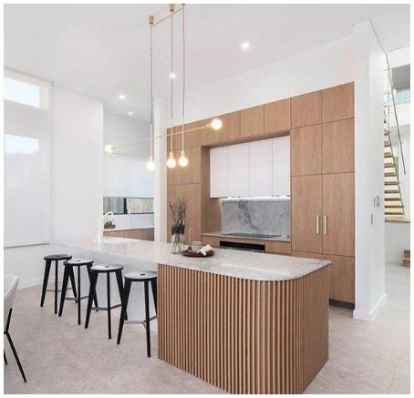 luxury modern white beige grey kitchen 5