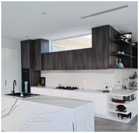 luxury modern white beige grey kitchen 6